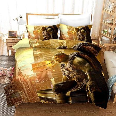 bed linings Juego de Cama 3D Las Tortugas Ninja Impresión ...