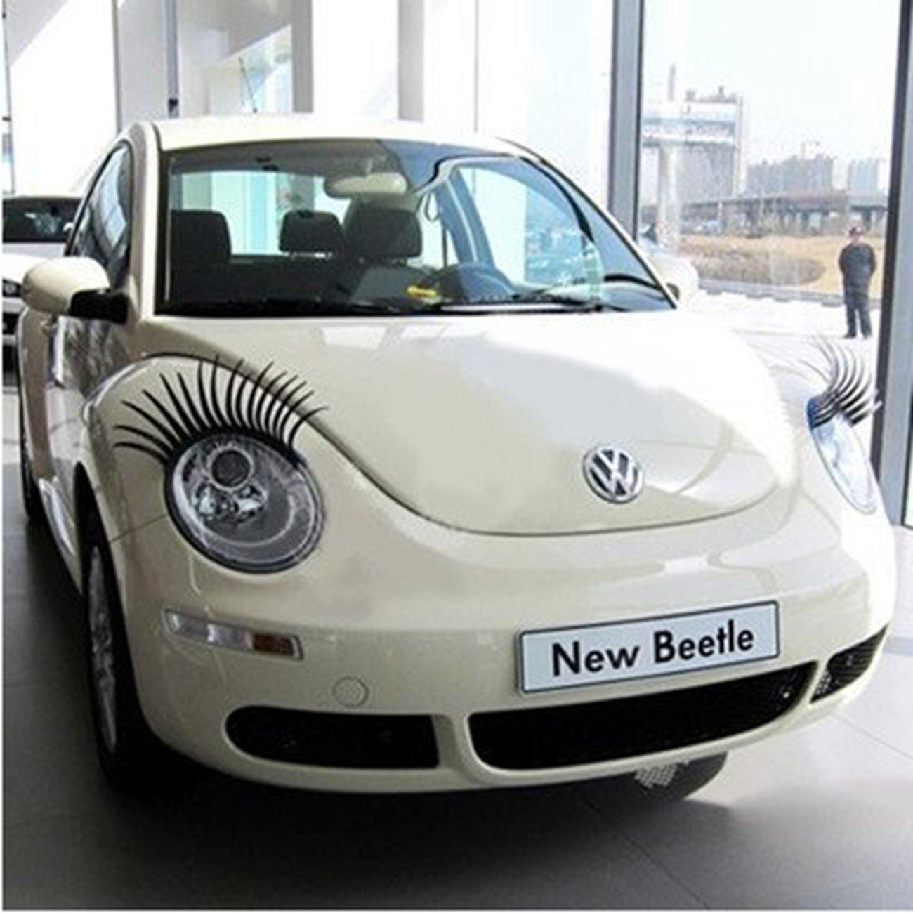 Amazon Sclm Carlashes Car Eyelashes Decorative Fashion
