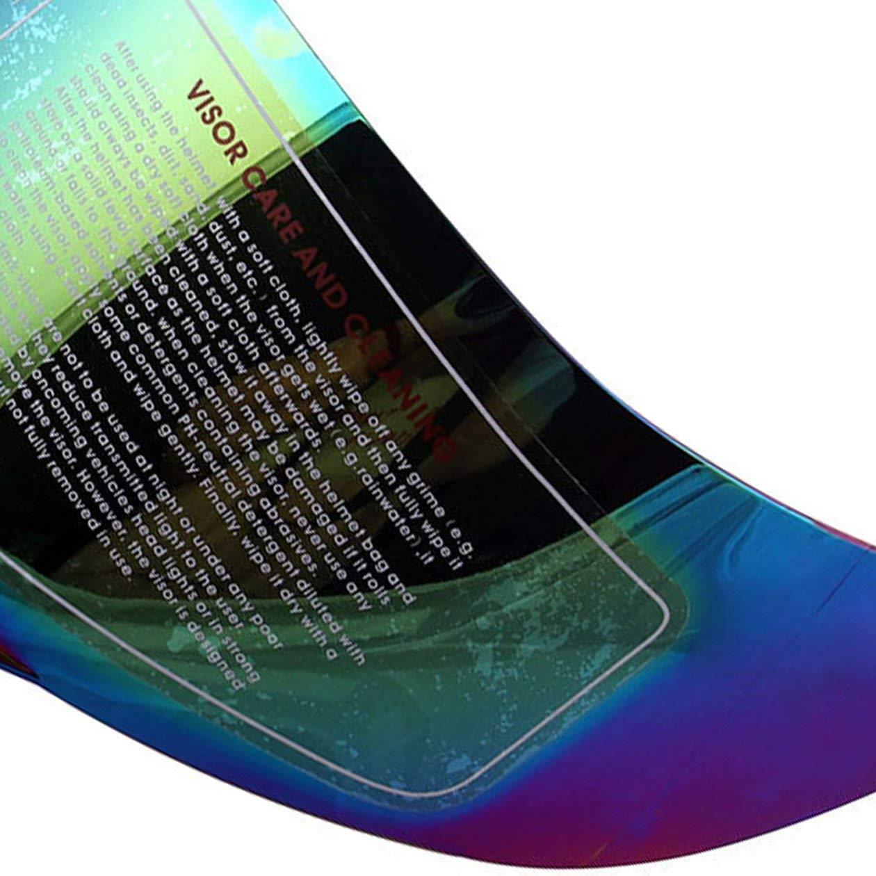 Colore: colorato HONGIRT Visiera Casco per Casco Moto AGV K5 K3 SV Parti Originali Occhiali per Casco Moto agv k3 SV k5 Lente Integrale