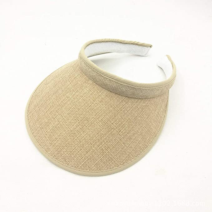 7b32e77f2f1 Men s and Women s Summer Sun Hats Linen Hair caps Empty caps ...