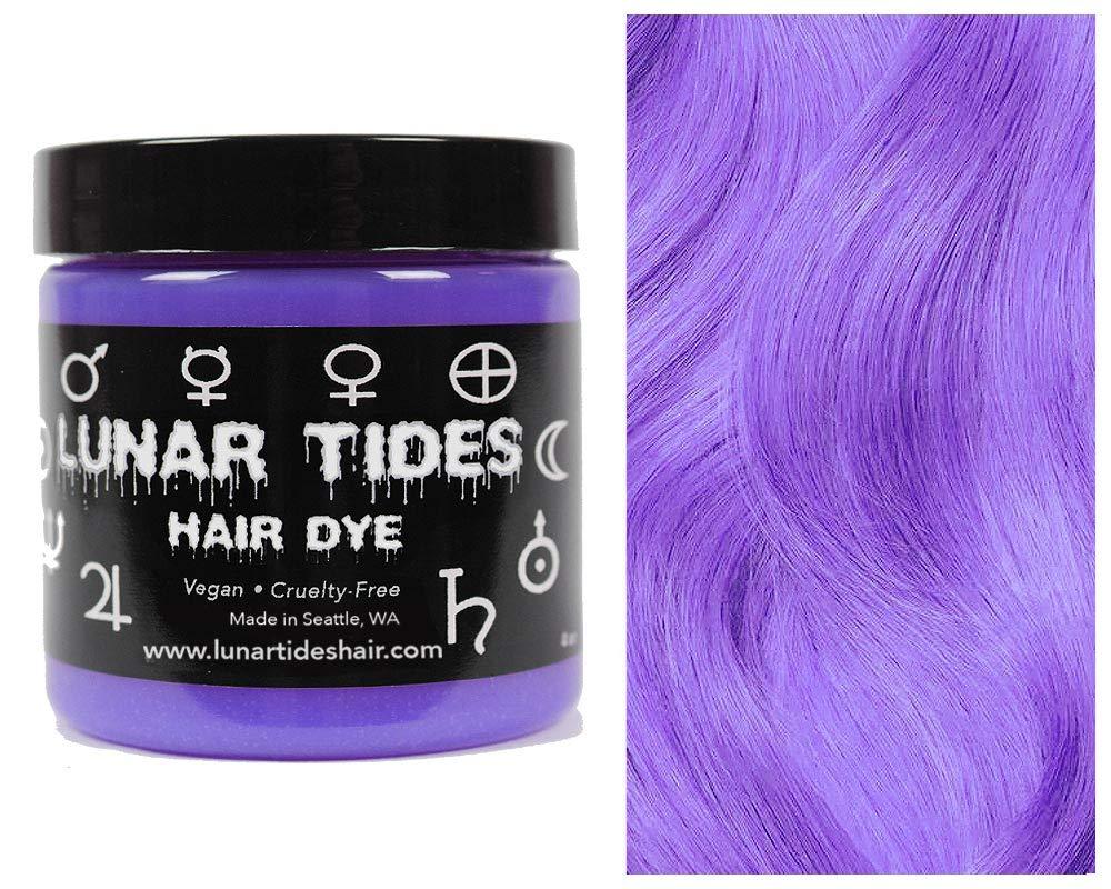 Amazon Com Lunar Tides Hair Dye Iris Pastel Purple Semi Permanent Vegan Hair Color 4 Fl Oz 118 Ml Beauty