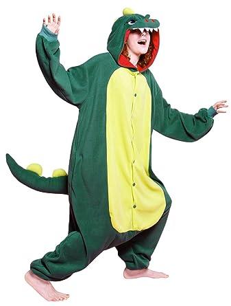 d0d6eba44d4a Amazon.com  Bcozy Monster Onesie Adult Costume