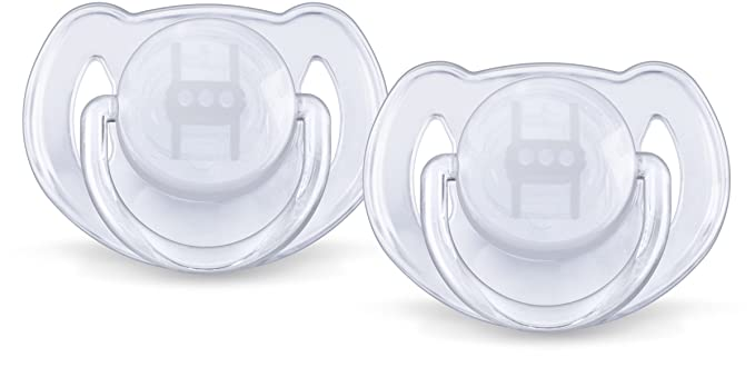 Philips Avent SCF170/22 - Chupete para bebé, 6-18 meses, 2 unidades, colores surtidos