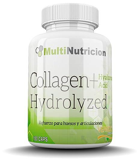 Colageno Hidrolizado Verisol + Acido Hialuronico + Magnesio | 180 Capsulas