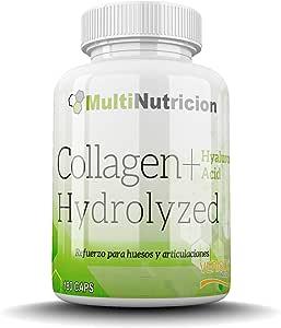 Colageno Hidrolizado Verisol® + Acido Hialuronico + Magnesio | 180 Capsulas
