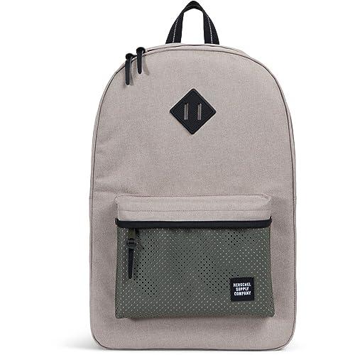 Herschel Heritage Backpack Mochila 21L, Heritage, grau/khaki