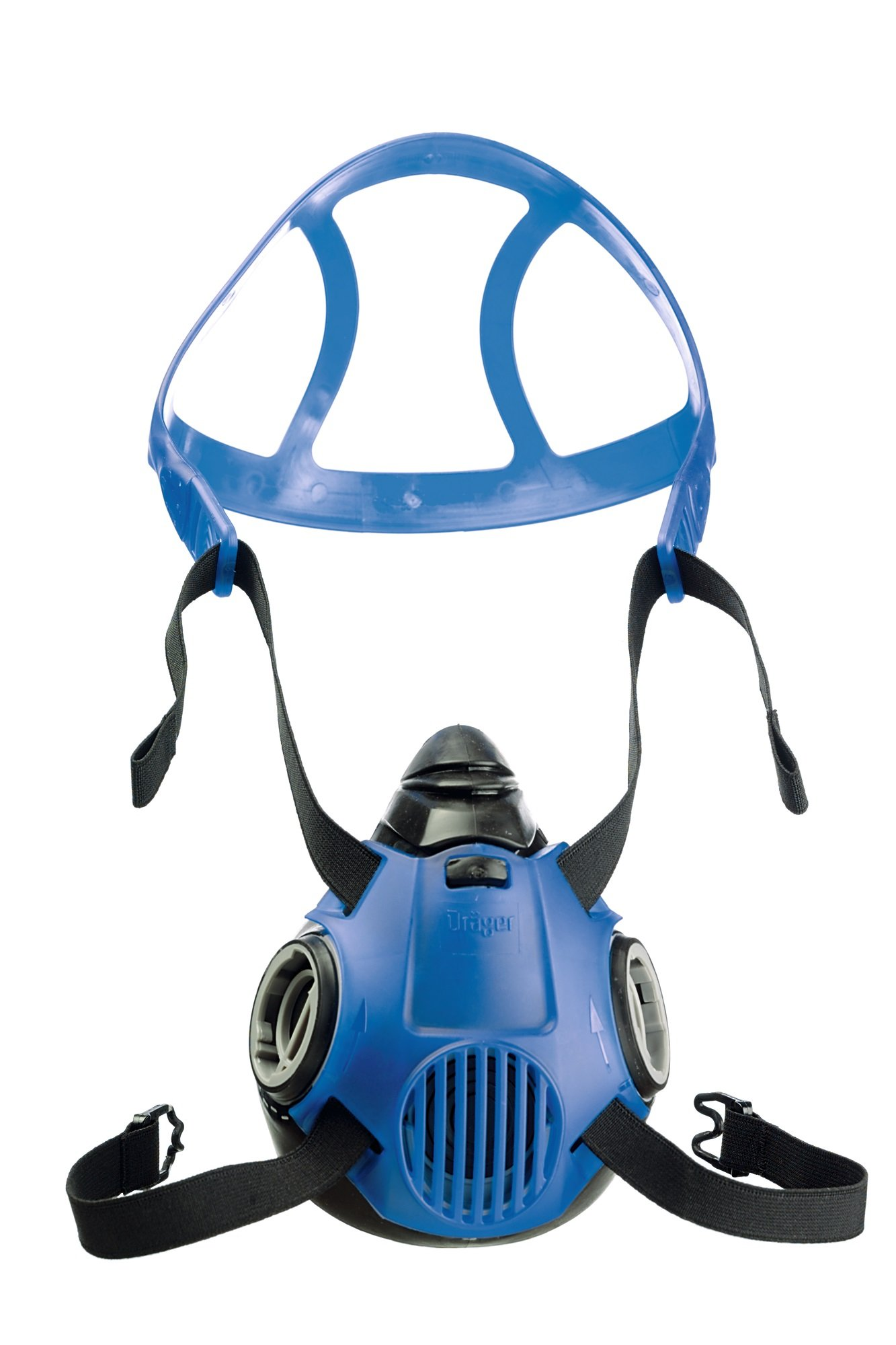 Dräger X-plore 3500 respirator mask | Size L | long-duration and reusable half face mask | NIOSH-approved
