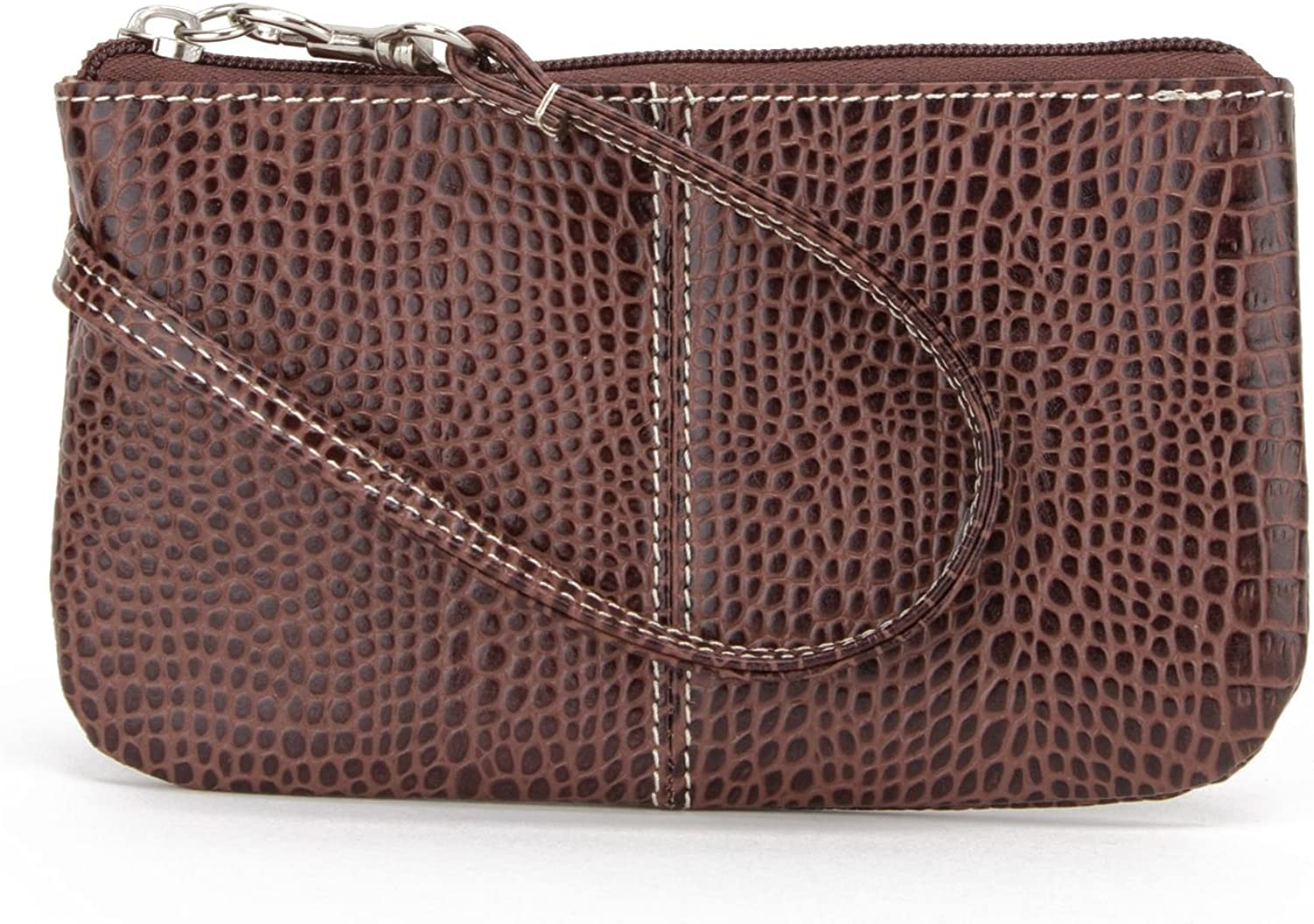 Soprano Handbags Daisy Croc Embossed Leather Wristlet Brown Amazon Ca Shoes Handbags I live alone with alan who is a monster my dad не пользуетесь твиттером? amazon ca