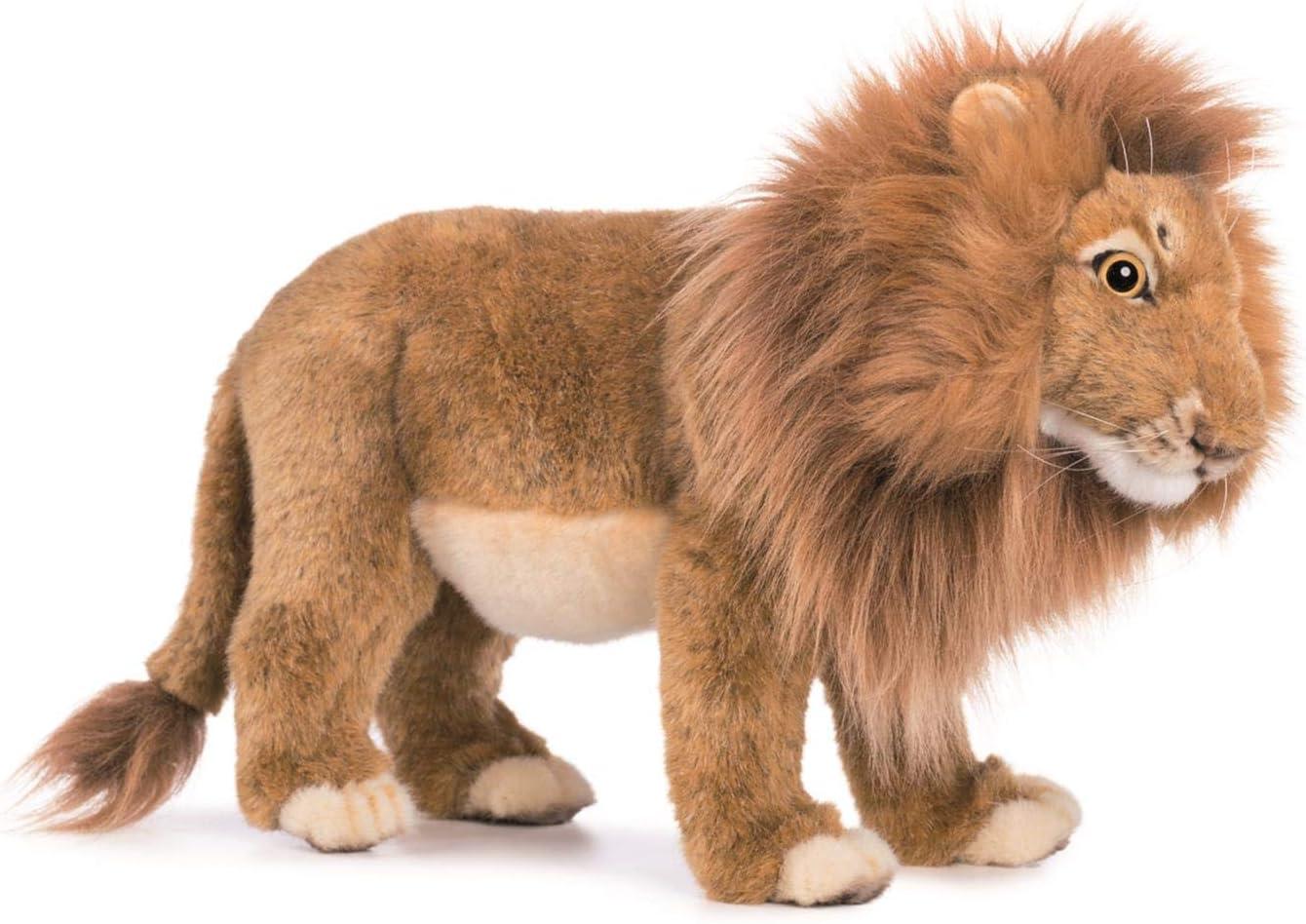 Scary Squeeze Stuffed Animals, Hansa Standing Male Lion Plush Animals Amazon Canada