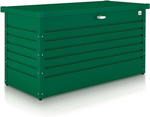 Northern Sheds GRAF bauzentrum – Arcón Caja 100 de Color Verde Oscuro: Amazon.es: Jardín