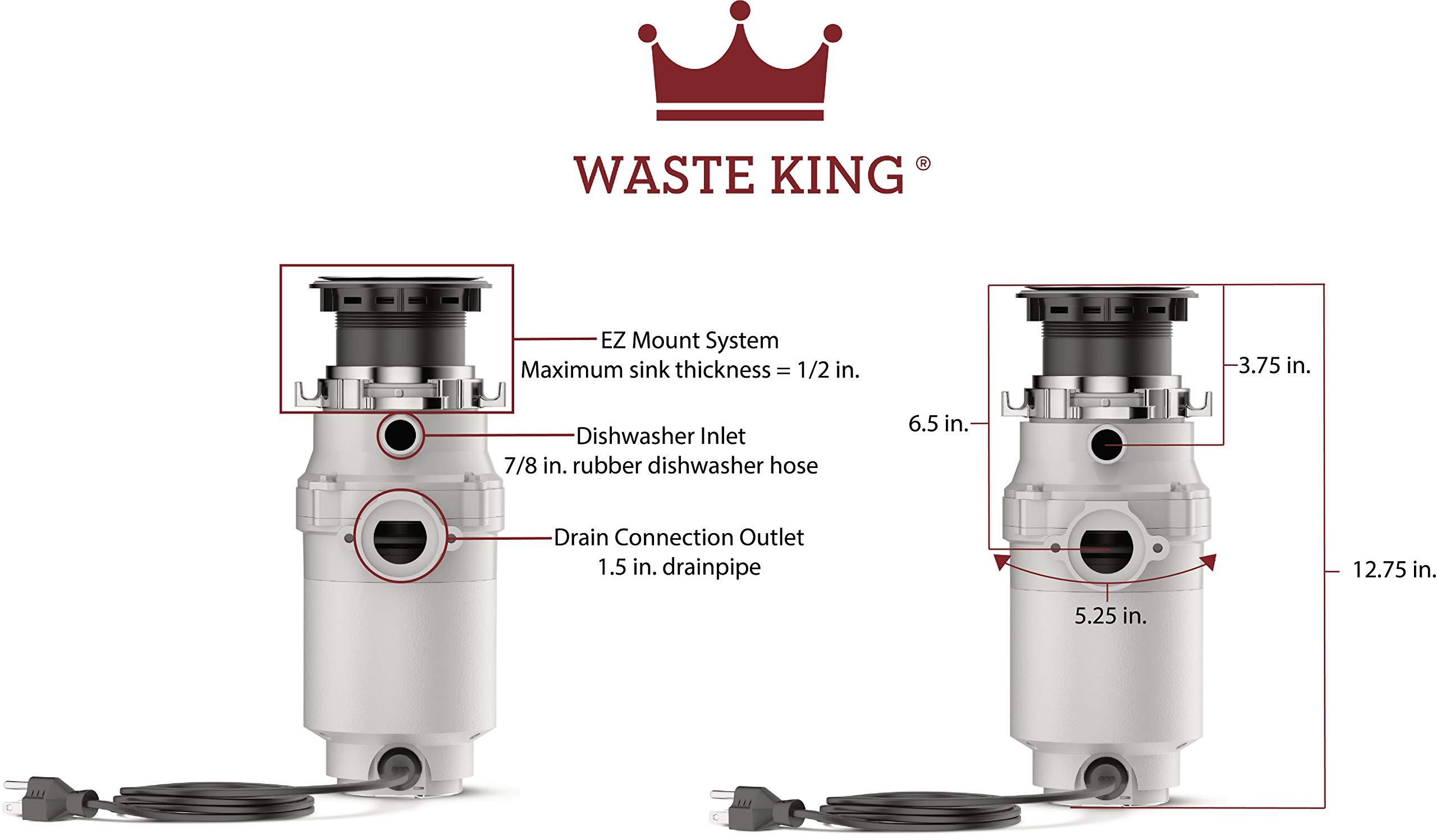 Waste King L-111 Garbage Disposal Multi