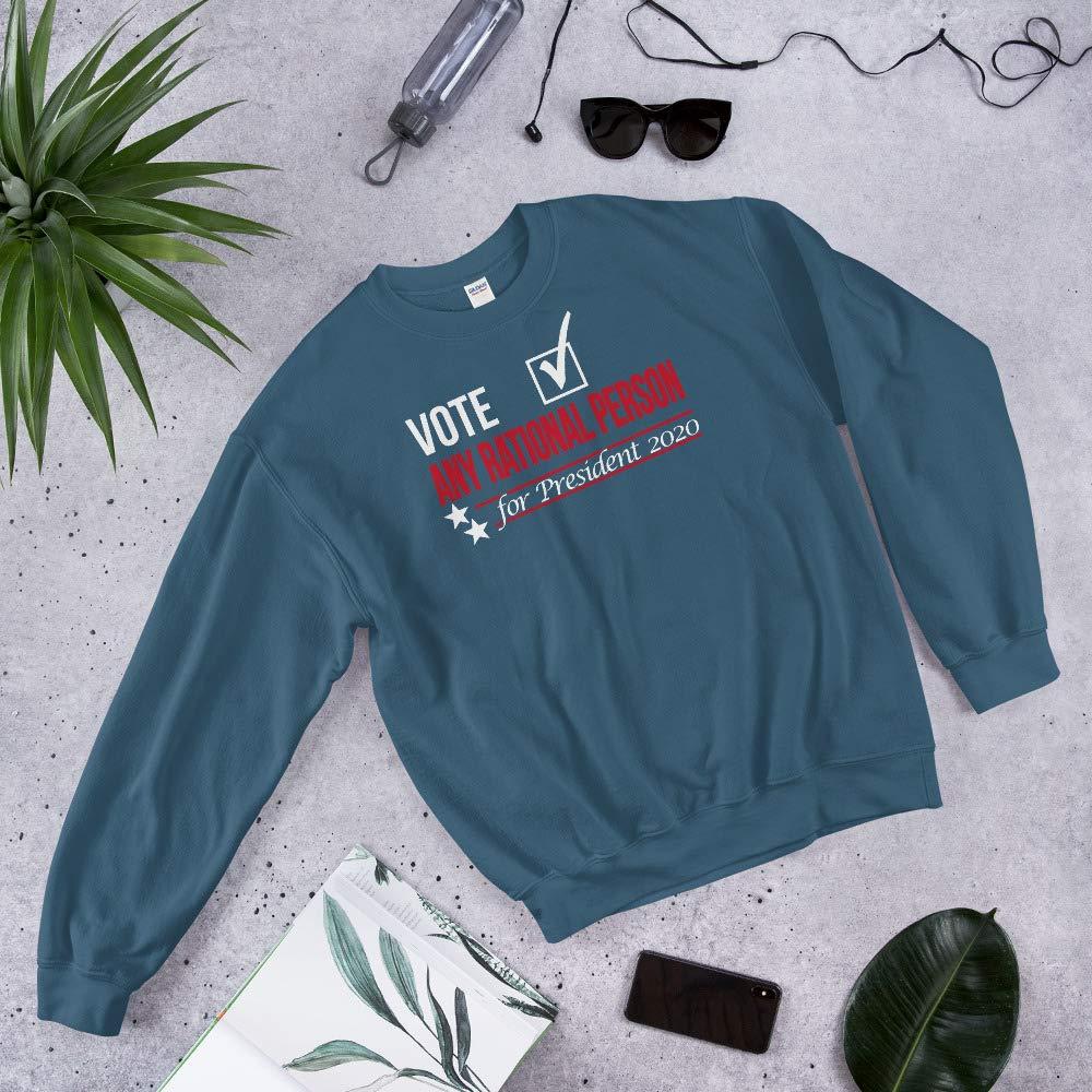 Sweatshirt Indigo Blue STFND Vote Any Rational Person