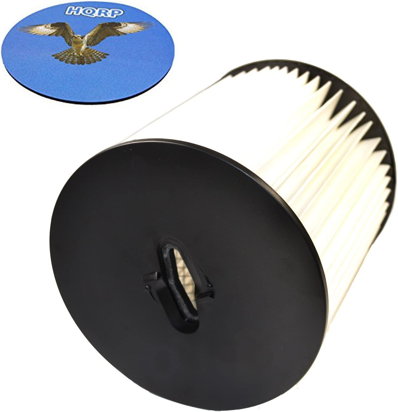 "HQRP 7"" Filter for Royal CS820, CS620, CS600, CS400, CS800 H-P Central Vacuum Systems, 8106-01 Replacement Coaster"
