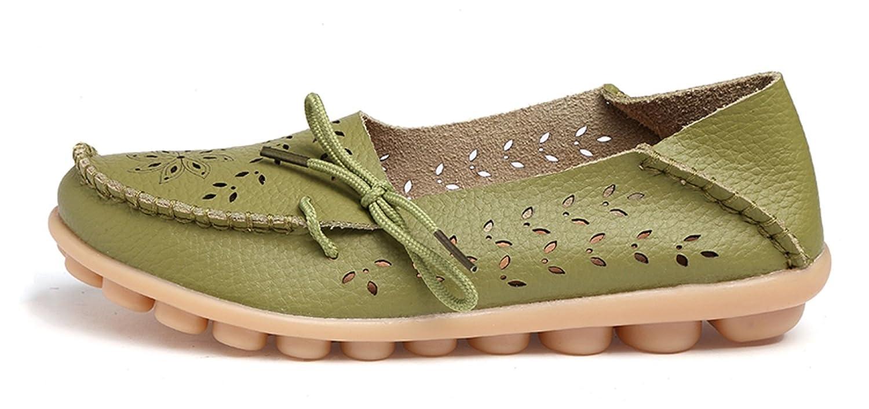 VenusCelia Womens Breathable Comfort Walking Office Flat Loafer