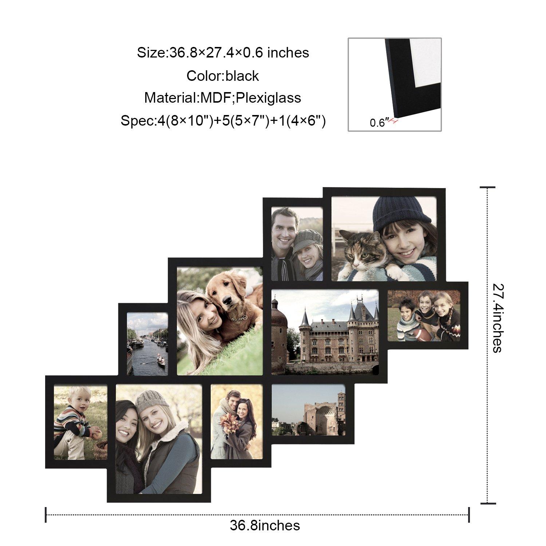 Adeco [pf0018] 10 aberturas grupo imagen Collage marco - sostiene ...