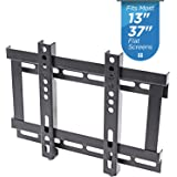 "New TV Wall Mount Bracket for LED, LCD, OLED and Flat Screen TVs (Fixed 13"" to 37"")"