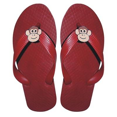 Monkey Kids Rubber Flip-Flops