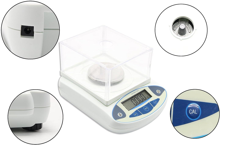BAOSHISHAN 200g//1mg Analytical Electronic Balance Lab Digital Balance Scale High Precision Balances Jewelry Scales Kitchen Precision Weighing Pan Diameter=110mm