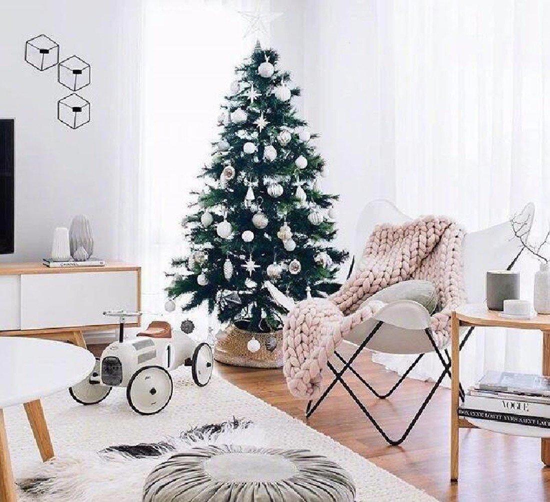 Handmade Giant Chunky Wool Knit Soft Rug Sofa Blanket Home Bed Lounge Decor