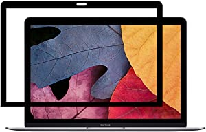 "Leze - Newest Macbook Pro 15"" Screen Protector,Bubble Free LCD Screen Protector With Black Frame For Apple Newest Macbook Pro 15"" With Touch Bar, A1707"