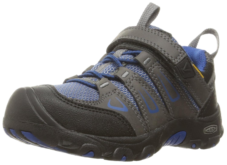 KEEN Kids' Oakridge Low WP Sneaker 1015186-001-1.0