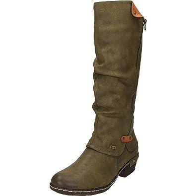 4dcb7f1f56d Rieker Women s Sierra Long Boots 36 M EU  5.5-6 B(M)