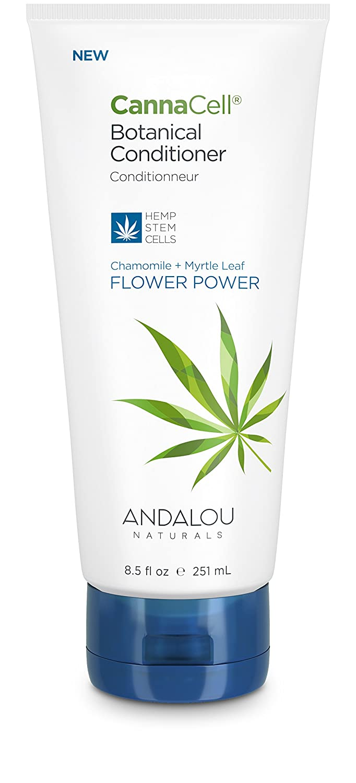 Andalou Naturals CannaCell Botanical Conditioner - FLOWER POWER 8.5 fl oz