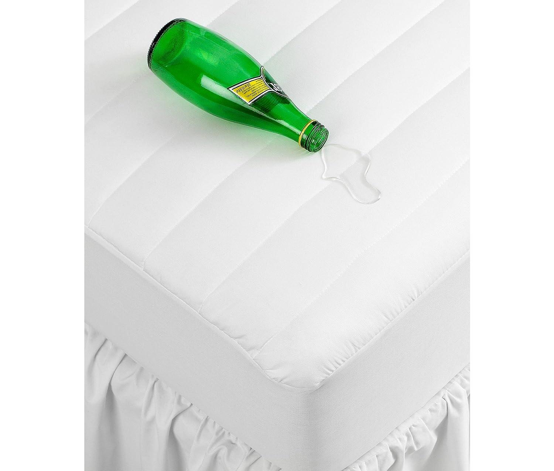 Amazon.com: Home Design Bedding, WATERPROOF Queen Mattress Pad: Home ...
