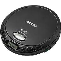 ION Audio CD GO - Retro draagbare cd-speler met koptelefoon en Bluetooth-connectiviteit om te streamen naar elke…