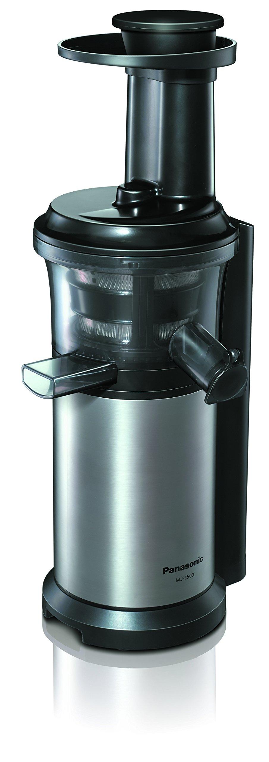 Panasonic MJ-L500 Exprimidor de Velocidad Lenta, 150 W, 1.3 litros, 2