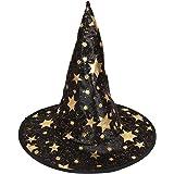 Generic Bamini Cappello A Punta Di Halloween In Maschera Costume Partito Cosplay Cappellini Berretto Da Mago Strega