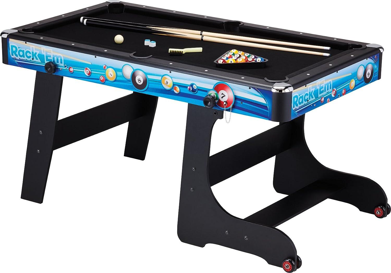 Fat Cat Stormstrike 5-foot省スペース折り畳みビリヤード/プールゲームテーブル B00SSOVSQU