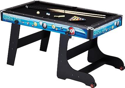 Fat Cat Stormstrike 5 Foot Space Saving Folding Billiard/Pool Game Table