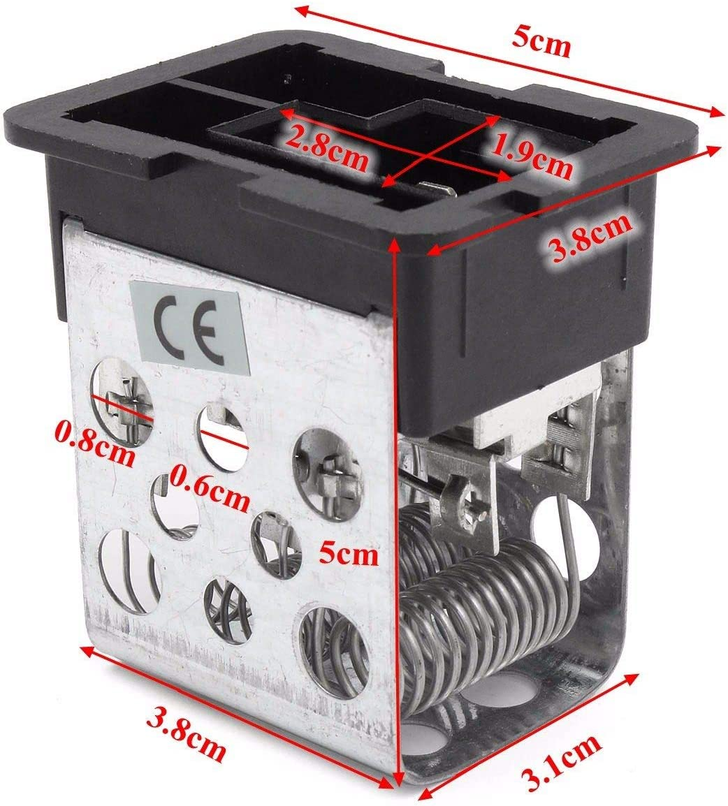 Cikuso Car Resistenza del Ventilatore del Motore del Ventilatore di Riscaldamento per Vauxhall Astra H Mk5 2004 2005 2006 2007 2008-2011 90560362