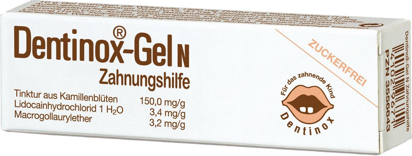 Dentinox Gel N Zahnungshilfe - 10er Pack (10 x 10 g)