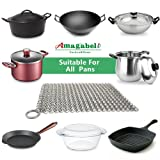 Amagabeli Stainless Steel Cast Iron Cleaner