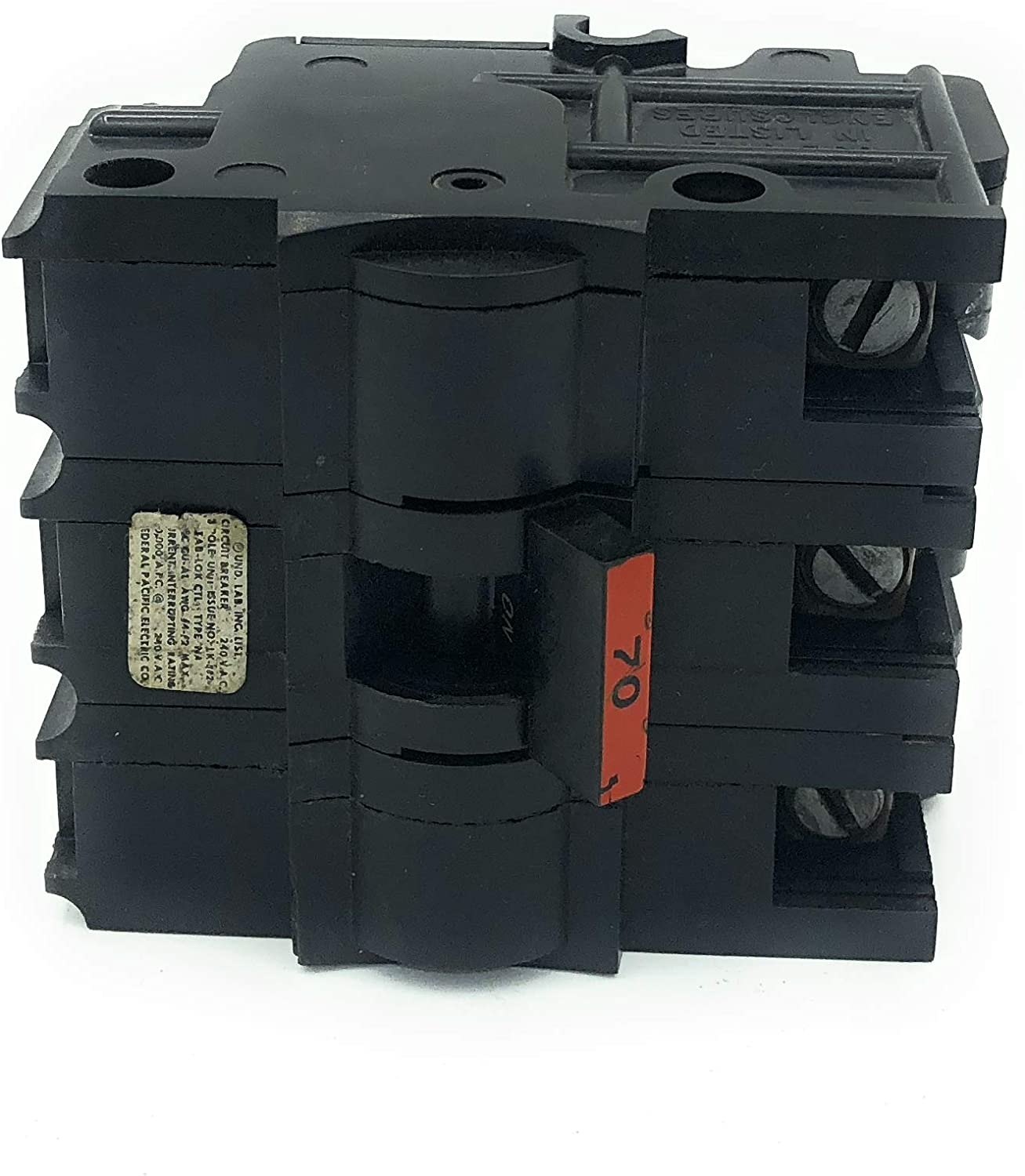 FEDERAL PACIFIC FPE NA30 STAB-LOK BREAKER NA130 THICK 30 AMP 1 POLE 1