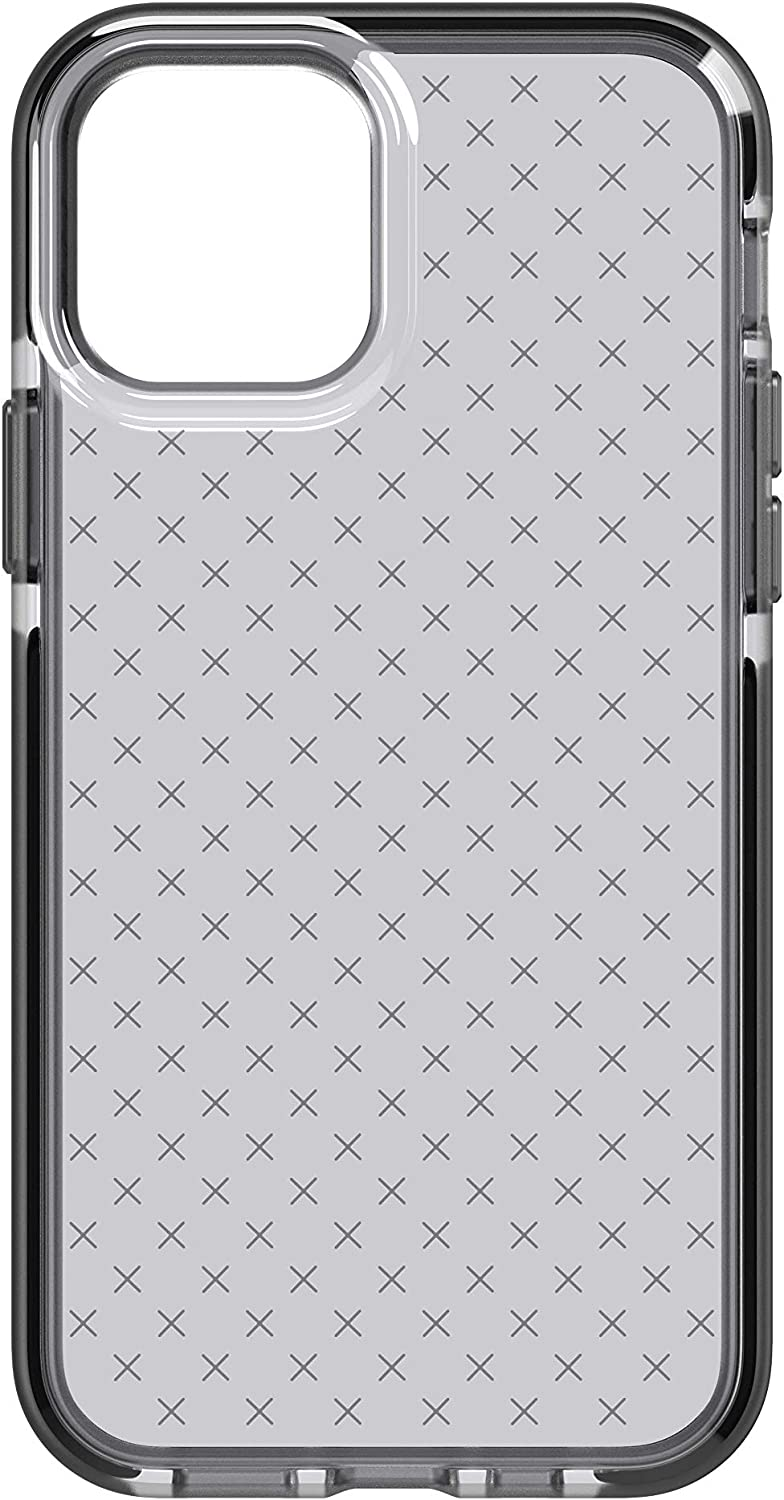 tech21 Evo Check for Apple iPhone 12 and 12 Pro 5G - Germ Fighting Antimicrobial Phone Case with 12 ft. Drop Protection