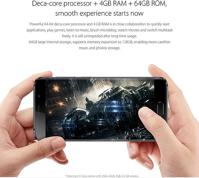 Elephone S7 3GB/32GB 4G Dorado Libre: Amazon.es: Electrónica