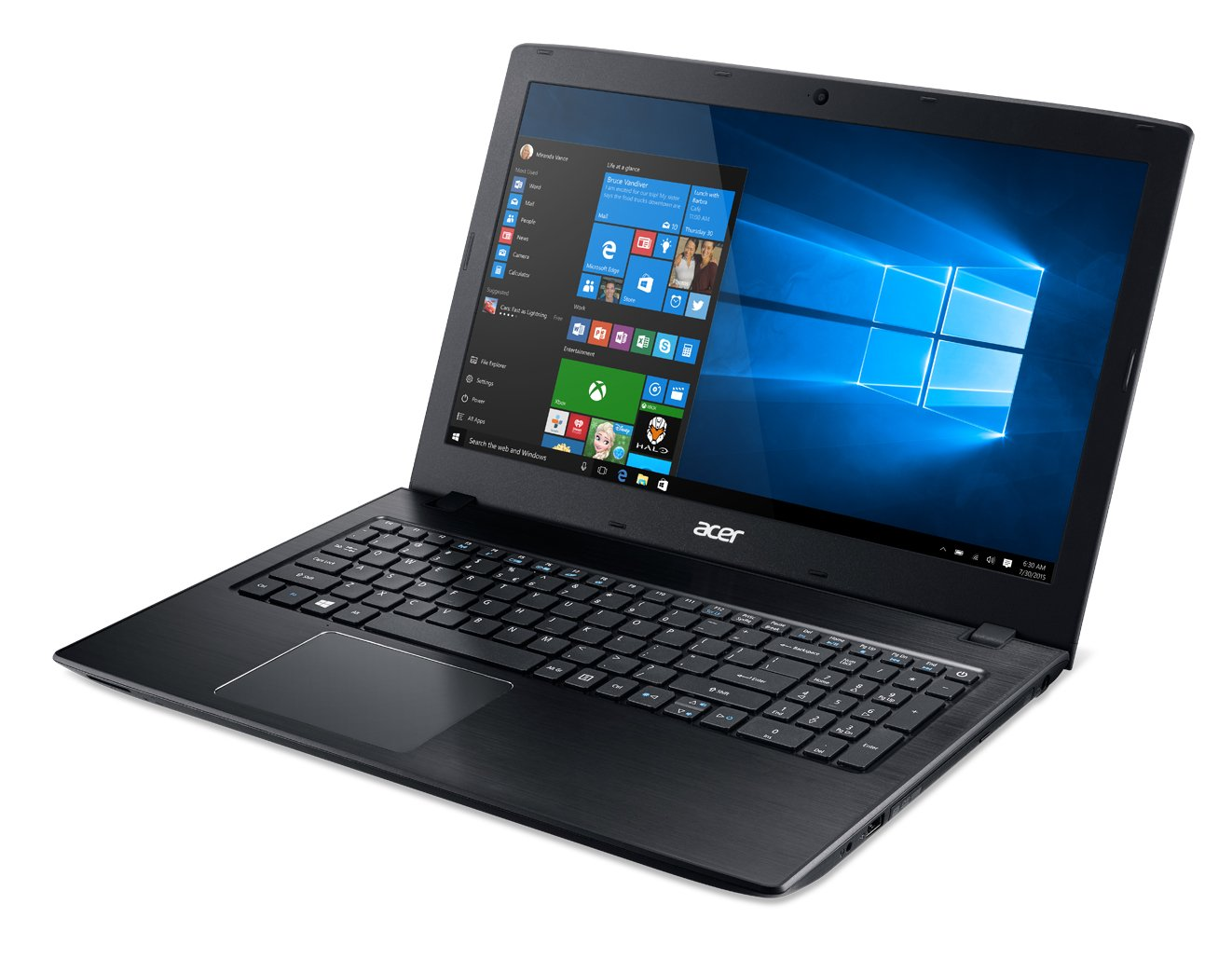 Acer Aspire E 15 E5-575G-57D4 15.6-Inches Full HD Notebook (7th Gen Intel Core i5-7200U, GeForce 940MX, 8GB DDR4 SDRAM, 256GB SSD, Windows 10 Home), Obsidian Black by Acer (Image #5)