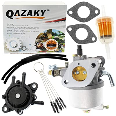 QAZAKY Carburetor Fuel Pump Replacement for EZGO 350cc Robin Engine Golf Cart Gas Club Car 4-Cycle Carb Workhorse ST350 17559 72558-G01 72558-G05 72840-G02 520-184 TXT MPT 800 1200 ST-350 ST-Sport: Automotive