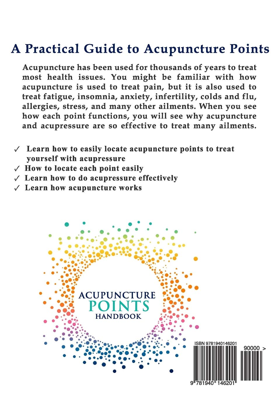 Acupuncture Points Handbook: A Patient's Guide to the