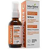 Canada's Premium 60ml 20% Vitamin C Serum with 11% Hyaluronic Acid & Vitamin E Moisturizer - Organic Face Topical Serum - Ant