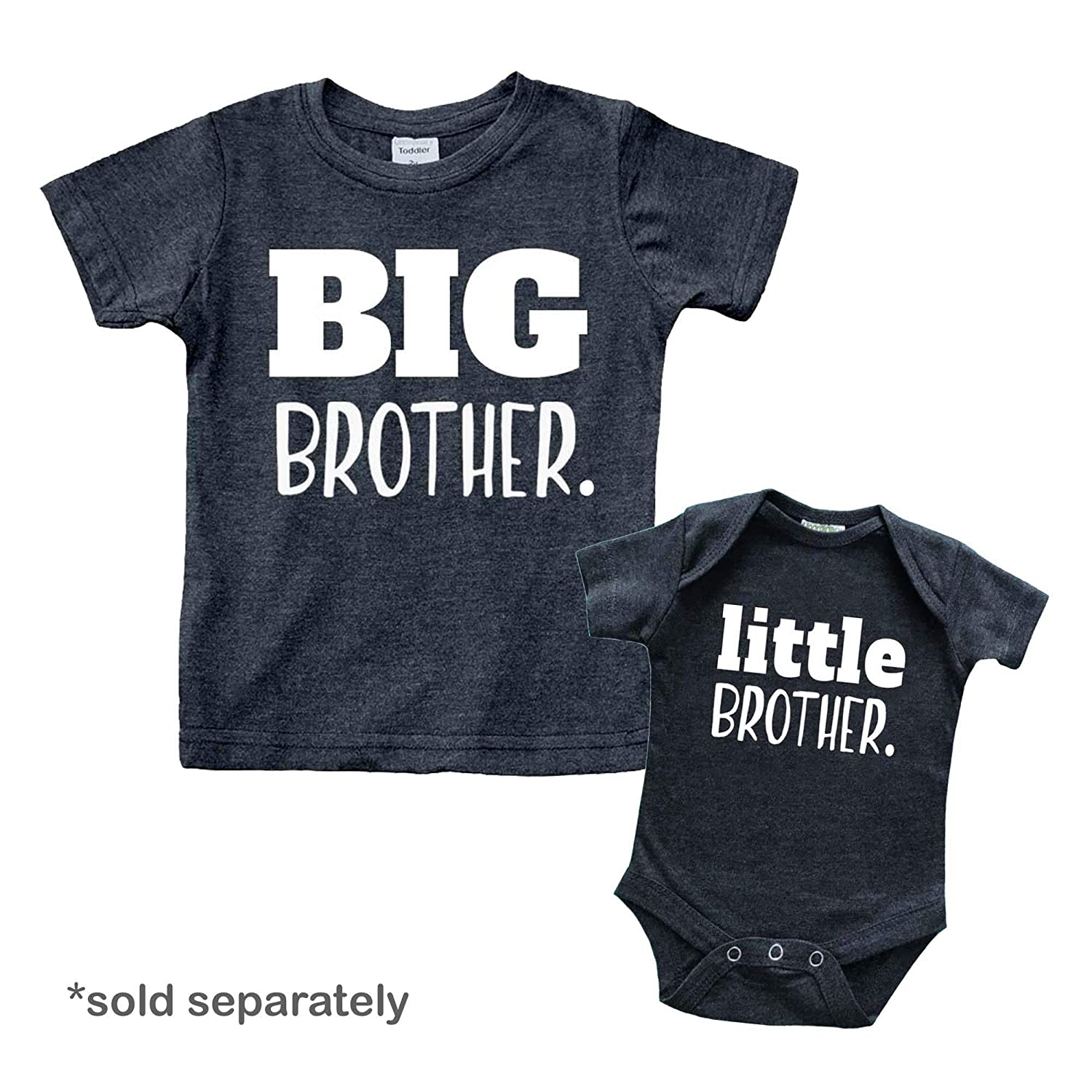 7744cb2b Amazon.com: Big Brother Shirt for Toddler Promoted to Best Big Brother  Announcement Baby Boys: Clothing