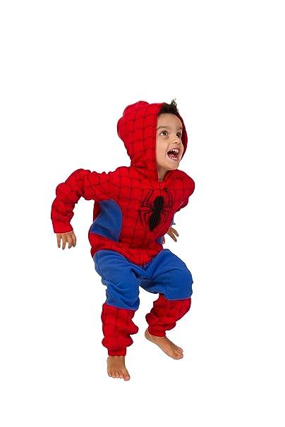 De Spiderman de Marvel pijama 3-8 años pijama infantil de neopreno ...