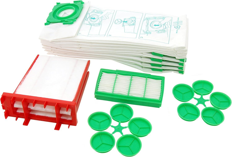 Genuine Sebo K Series Vacuum Cleaner Paper Dust Bags X 8 & Filters 6695Er