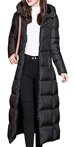 25a6cbc890ba8 Scothen Abrigo de Mujer Chaqueta de Invierno Larga Chaqueta Acolchada Parka  Capucha Piel sintética Abrigo de
