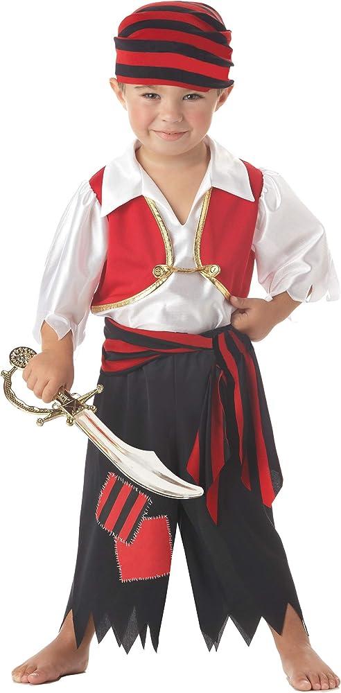 Forever Young Boys Disfraz de Pirata Unisex Girls Toddler Kids Fancy Dress Disfraz de Halloween 3-4 años: Amazon.es: Ropa y accesorios