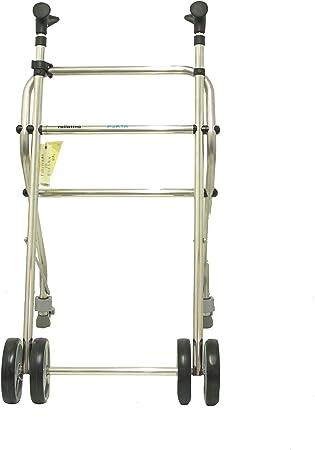 Forta fabricaciones - Andador de aluminio para ancianos Rollatino: Amazon.es: Electrónica
