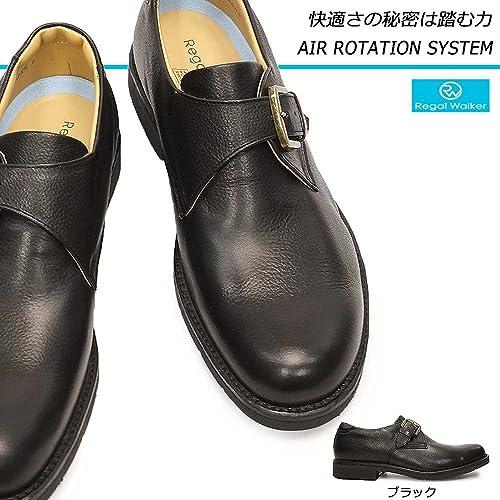 コンフォート 239W モンクストラップ 日本製 蒸れない 幅広 REGAL Walker エアローテンションシステム 呼吸する靴 リーガル ウォーキングシューズ 靴